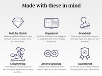 UX Compendium Icons