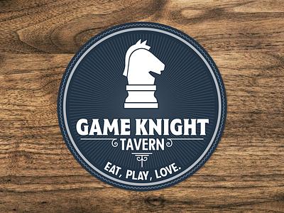 Game Knight Tavern pub tavern sticker mule coasters board games