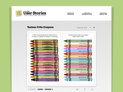 The User Stories