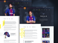 Barcelona FC -  Player Profile (desktop)