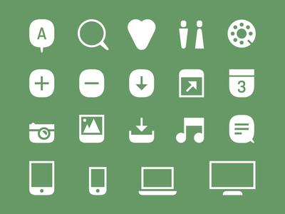 Ostmodern Rebrand - Icon Development