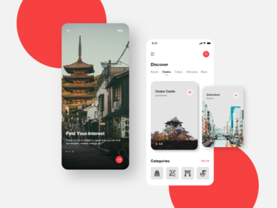 Japan Travel Mobile App Exploration