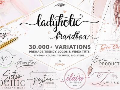 Best Feminine Branding Logo Bundle