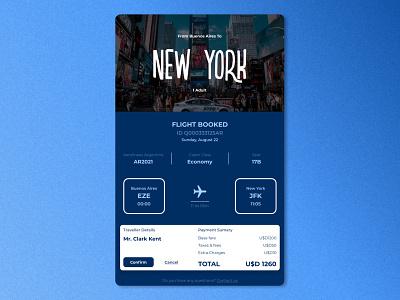 Daily UI #17 - Email Receipt graphic design airplane travel uidesign userinterfacedesign design ui dailyui17 dailyui emailreceipt app