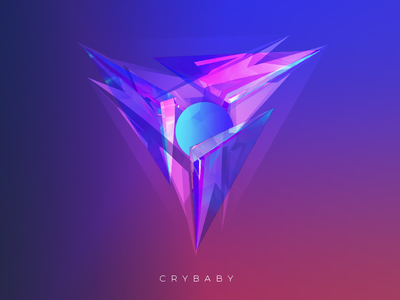 Absract shapes lowpoly colorful facets shapes abstract