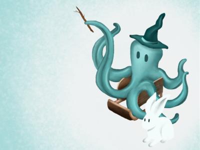 Magician octopus