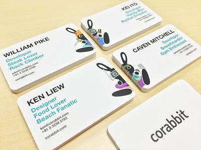 Business Cards rabbit card business corabbit