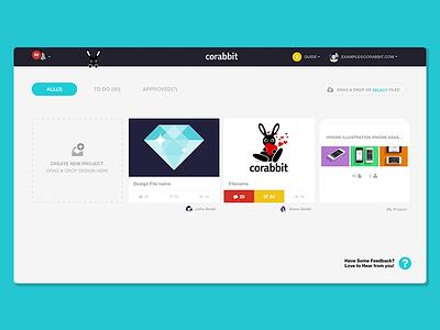 corabbit Dashboard app webui corabbit