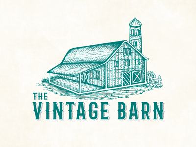 Vingate Logo Design of Bintage Barn
