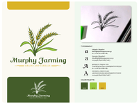 Murphy Farming Vintage Logo  Design
