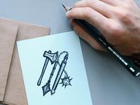 Mace Logo Design