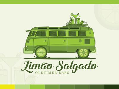 Limao Salgado Logo Design