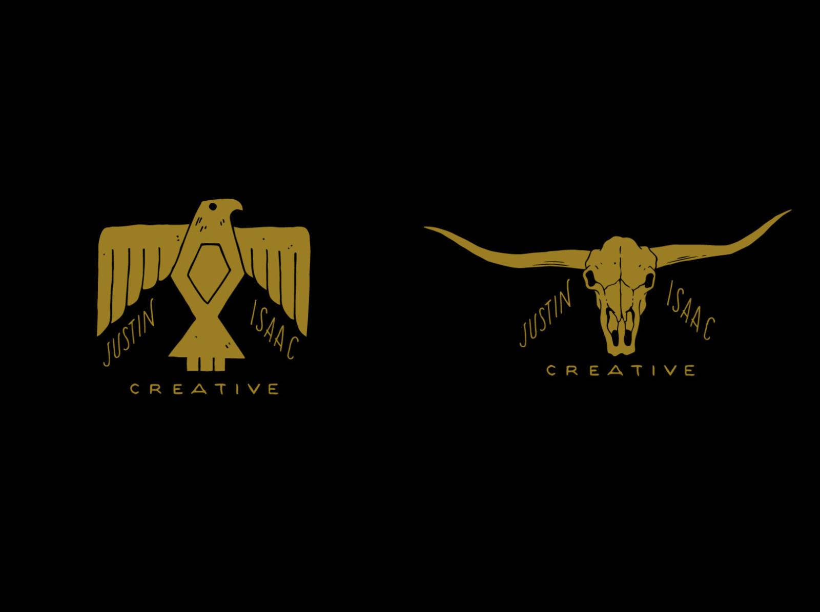 Justin Isaac Logo Variations