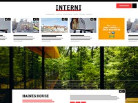 INTERNI Magazine // Website