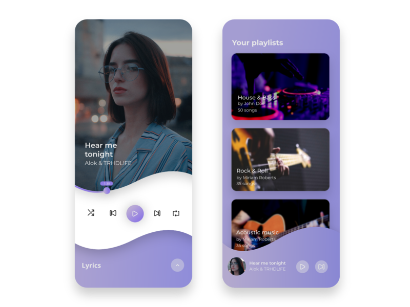 Music Player UI mobile app music app music player app design design app uidesign user interface mobile app design