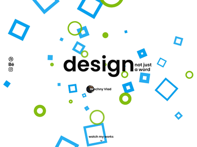 Personal website home page animation concept animations loading screen loading animation blue green animation website design website web design ui design