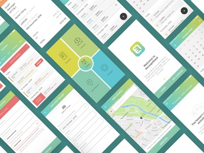 Receiptshed App rantmedia product design gradient ux design ui design app receiptshed