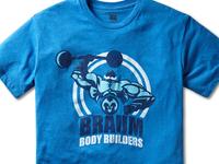 Braum's Bodybuilder T-Shirt Design