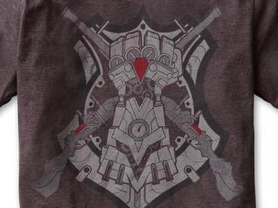 Piltover's Finest T-Shirt Collaboration police steampunk legend sherif vi caitlin champion riot league