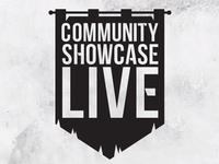 Community Showcase Live Logo