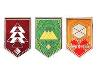 Destiny Quest Pins