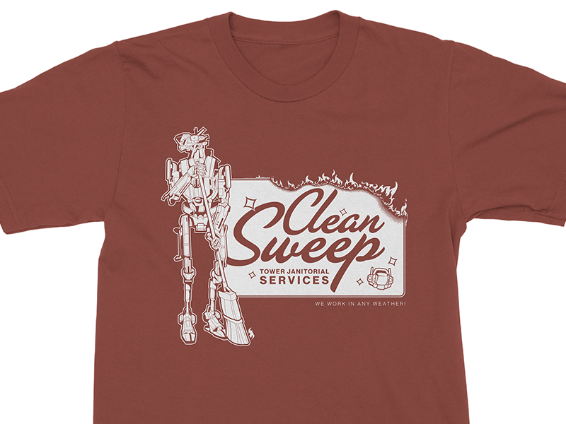 Destiny 2: Sweeper Bot T-Shirt by Zoë Brookes on Dribbble