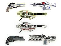 Destiny Weapon Pin Sets