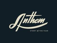 Anthem lettering