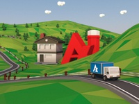 Apotex Low Poly Landscape 4