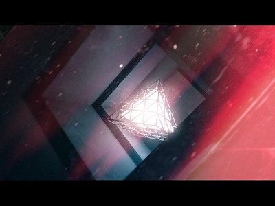 Array - Full Width c4d cinema 4d abstract experiment light luminance