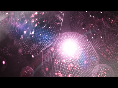 Geo Life - Full geometric cinema 4d c4d 3d abstract photoshop