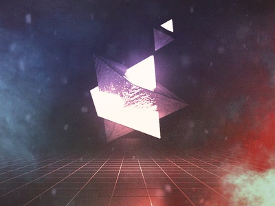 Pyramids c4d cinema 4d abstract experiment light luminance triangles pyramids