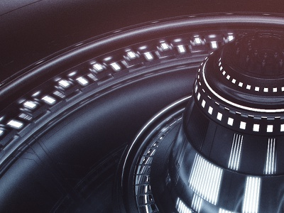 The Reactor sci-fi cinema 4d 3d c4d