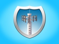 Iconography Shields Cell Tower