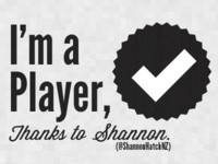 I'm a player, thanks to @ShannonHatchNZ