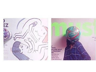 Illustration for a fashion magazine peru lima illustration magazine layout fashion published