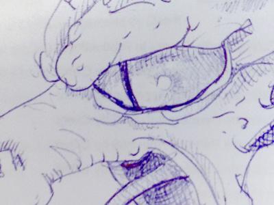 Dragon sketch sketch pen