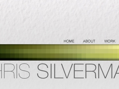 CS Home pixelated texture web design colindpritchard