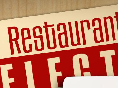 Restaurant Selector preview ui ui design colindpritchard