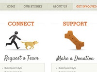 Dog Therapy Website (non-profit)