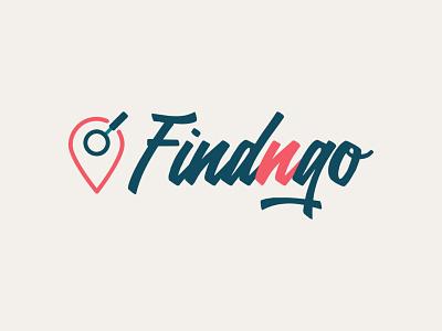 Findngo - logo identity design identity marketing mark typography icon design logo vector branding