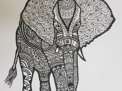 Stouthearted elephant artwork artist pencil art illustrations drawart pencil sketch illustration art pencil drawing illustration daailyart