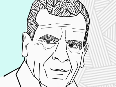 Writer man hyperrealism artworks artist art portrait digital painting digitalart animation artwork design drawart illustrator illustrations illustration art pencil art illustration daailyart