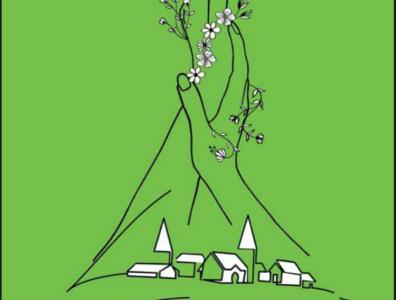 Green Spring magazine illustration magazine design digital painting digitalart drawart design animation illustrator pencil drawing illustrations illustration art pencil art illustration daailyart