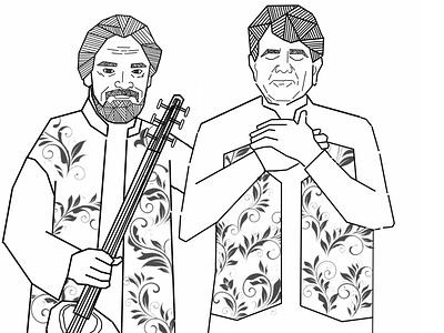 Singer man pencil sketch animation design illustrator drawart pencil drawing illustrations illustration art illustration daailyart