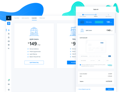 ikas Subscription Flow and Checkout white icon app payment icons design pricing checkout subscribe vector web flat simple illustration ikas dashboard clean minimal ux ui