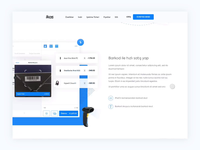 ikas Barcode Landing Page and Interactions