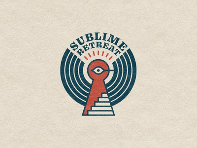 Record label marks eye stairs keyhole vinyl branding animal sign icon mark geometric nature retro bird logo record label