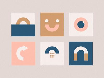 Happy little icons