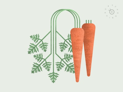 Carrots plant modern natural history nature szarobiuro geometric illustration root leaf orange green etsy print botany vegetable food vege carrot